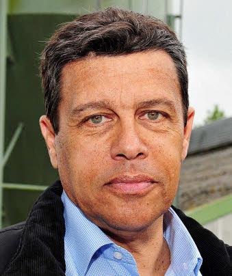 PHOTO CLAUDE PRIGENT / LE TELEGRAMME . LE MERZER (22) : Xavier Beulin , Président de la FNSEA .